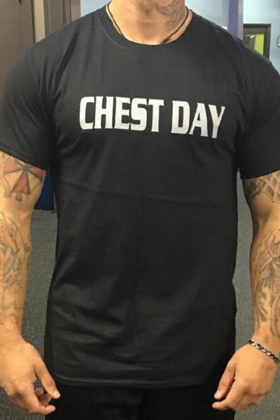 Chest Day Men's Workout Triblend Shirt - The Sox Box