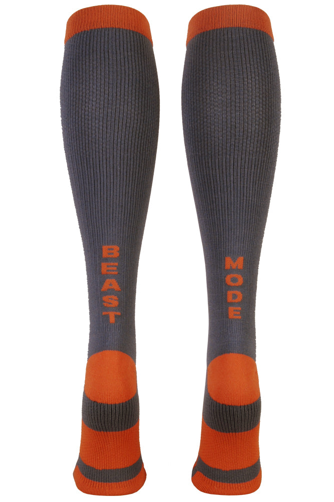 Beast Mode Compression Knee High Socks- The Sox Box