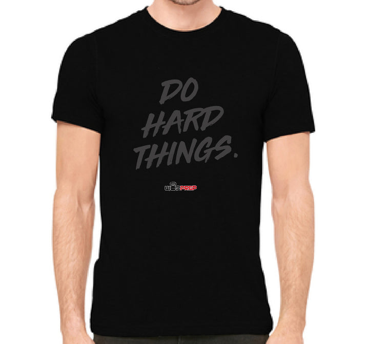 Do Hard Things WODprep Triblend Crew Shirt - The Sox Box