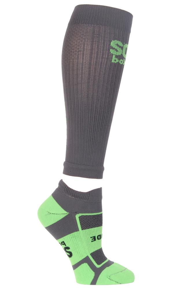 Beast Mode Grey Compression Sleeves - The Sox Box
