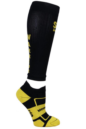 Warrior Black Compression Sleeves- The Sox Box