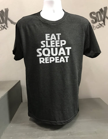 Eat, Sleep, Squat, Repeat T-shirt
