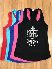 Keep Calm Carry On Tank