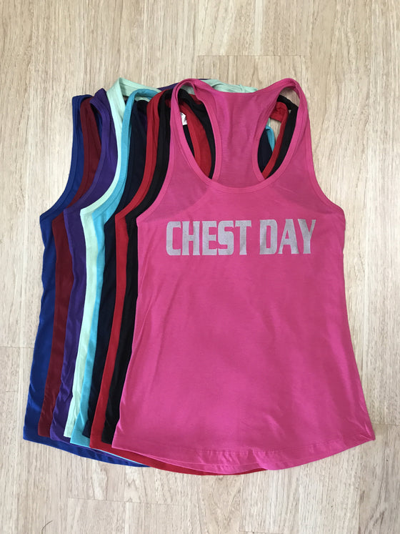 Chest Day Tank