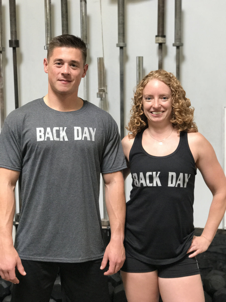 Back Day Women's Workout Racerback Tank- The Sox Box