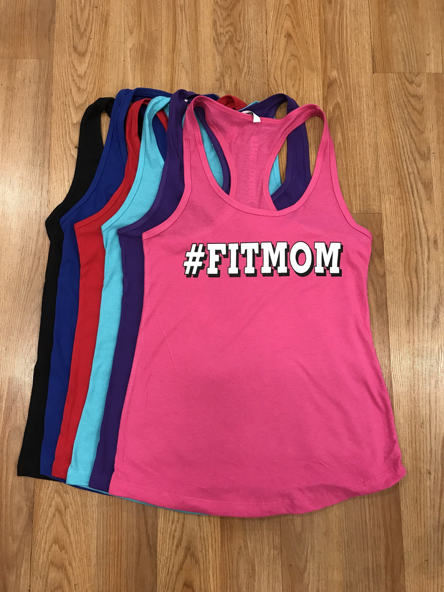 #Fitmom Women's Workout Racerback Tank - The Sox Box