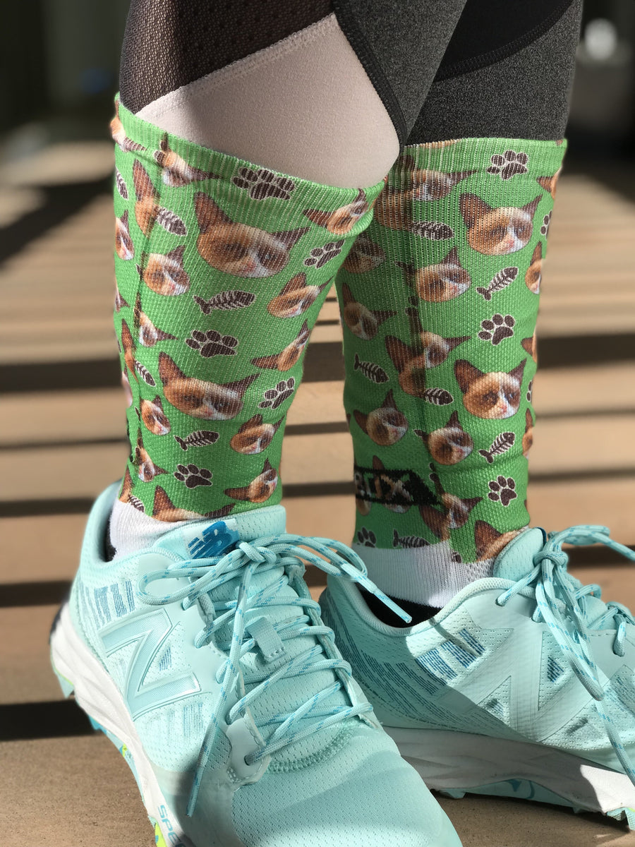 Novelty Custom Cat Socks - The Sox Box