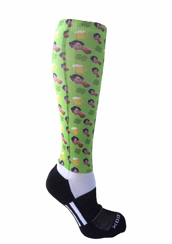 Novelty Custom St. Patrick's Day Socks - The Sox Box