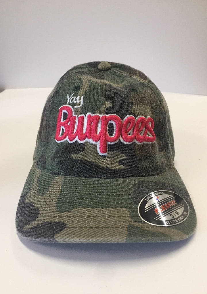 Yay Burpees Camo Cap