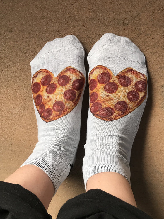 Pizza Fun Ankle Socks - The Sox Box