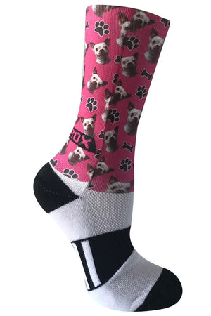 Novelty Custom Dog Sock- The Sox Box