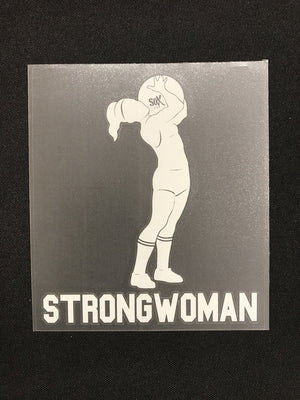 StrongWoman Stone Decal