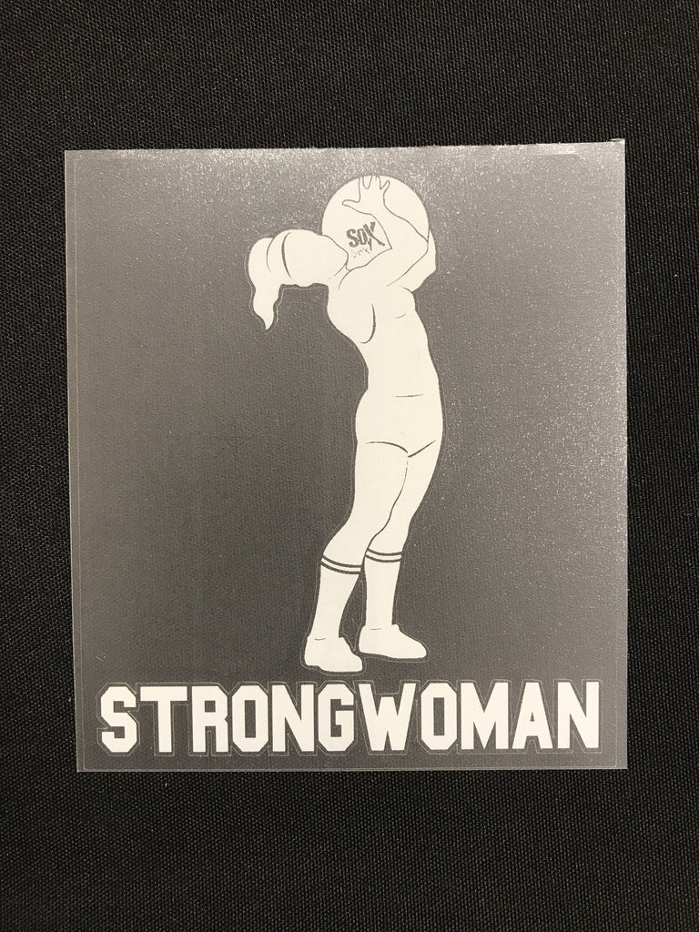StrongWoman Farmer Carry Decal