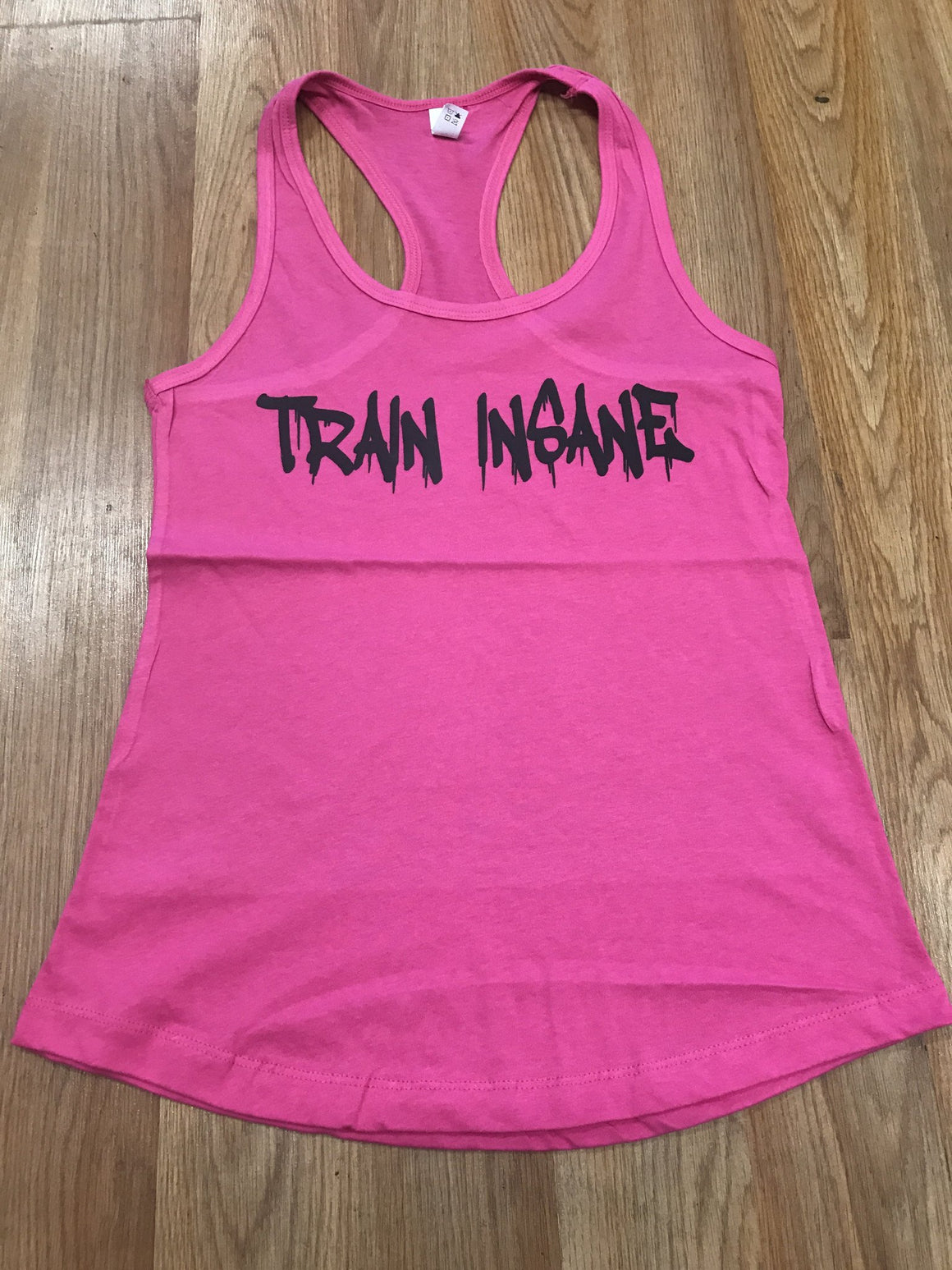 Train Insane Women's Workout Racerback Tank- The Sox Box