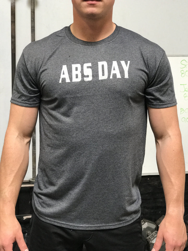 Abs Day Men's Workout Triblend Shirt - The Sox Box