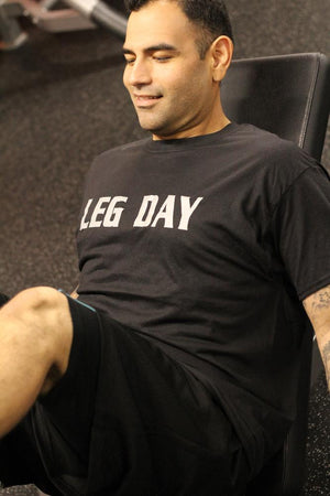 Leg Day Men's Workout Shirt - The Sox Box