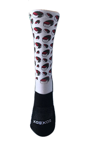 Spam Musubi Novelty Crew Socks- The Sox Box