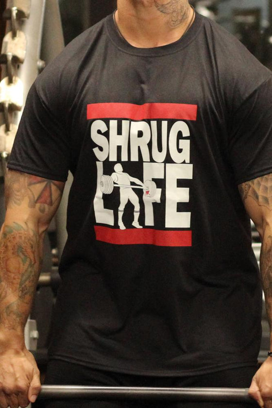 Shrug Life Men's Workout Shirt- The Sox Box