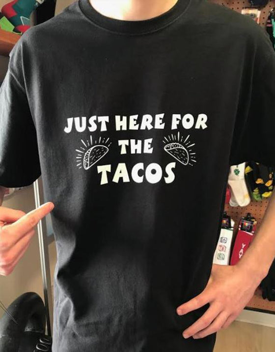 Just here for the Tacos Men's Workout Shirt - The Sox Box