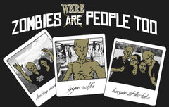 Zombies Are People Too Gray Tank