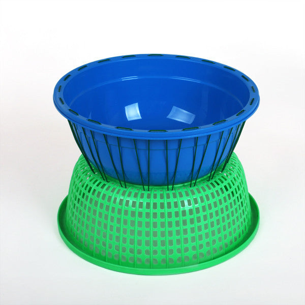 Green and Blue Bucket