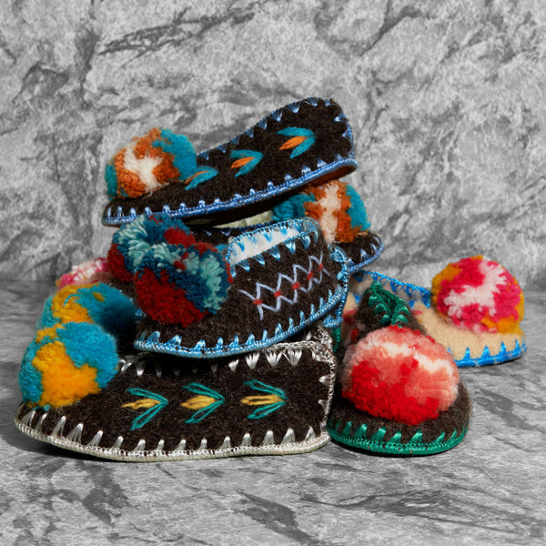 Greek Children's Slippers