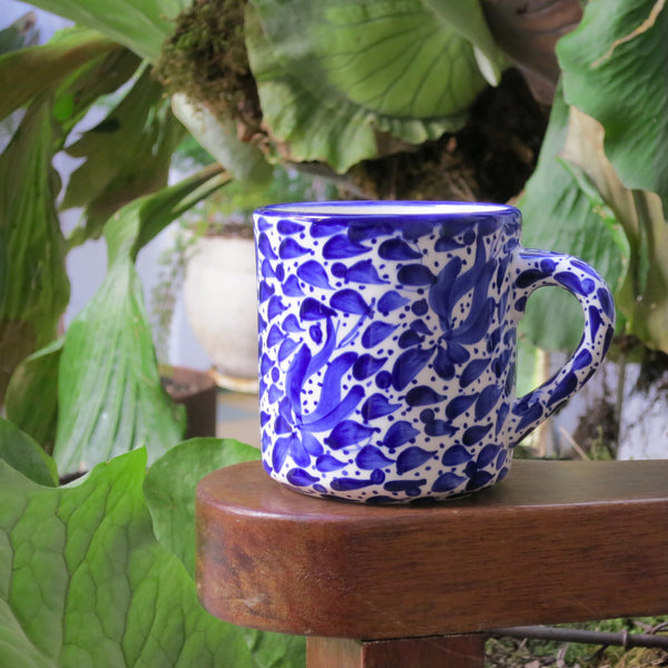 Blue and White Mug