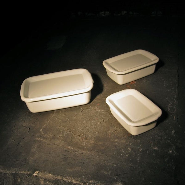 Enamel Storage Containers