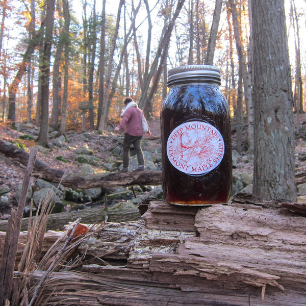 Deep Mountain Maple Syrup Dark Amber