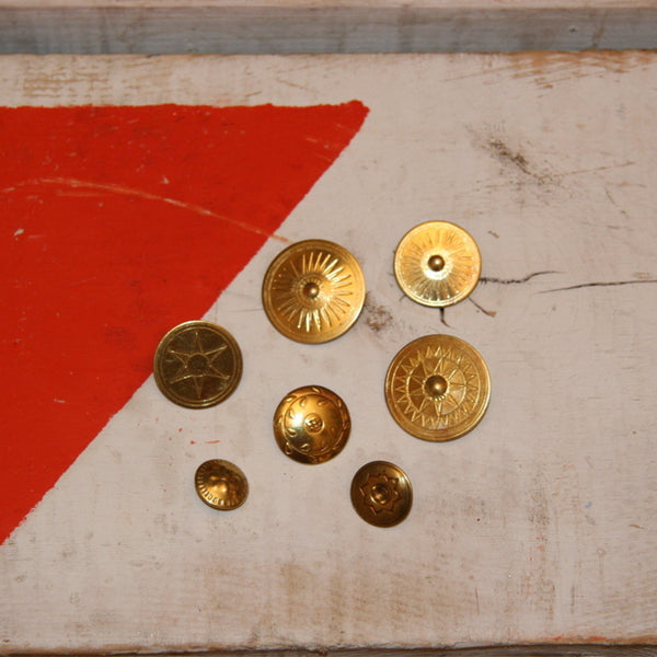 Traditional Brass Buttons