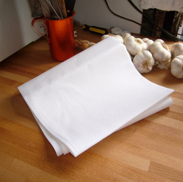 White Dish Towel