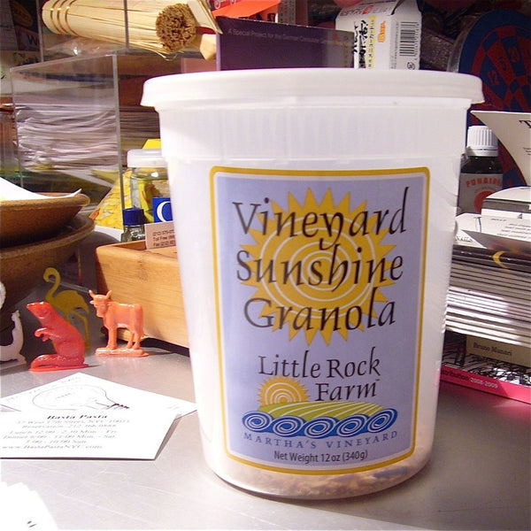 Vineyard Sunshine Granola