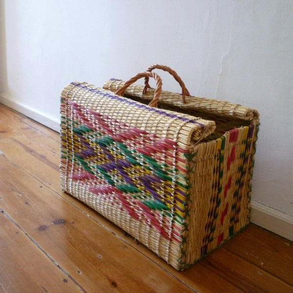 Typical Portuguese Straw Bag
