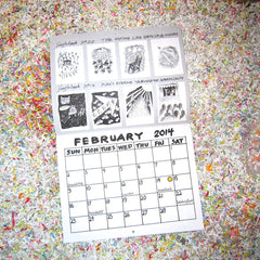 Bread and Puppet Calendar 2014