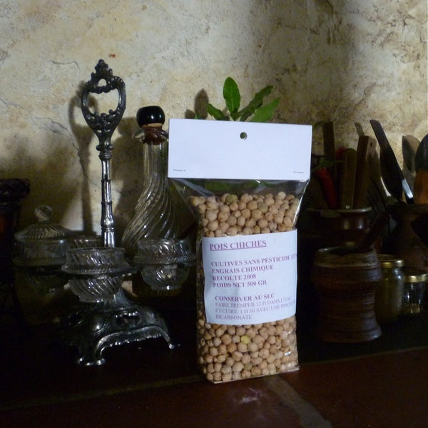 Dried Organic Chickpeas