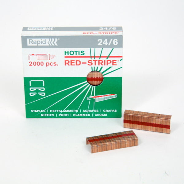 Red Stripe Staples