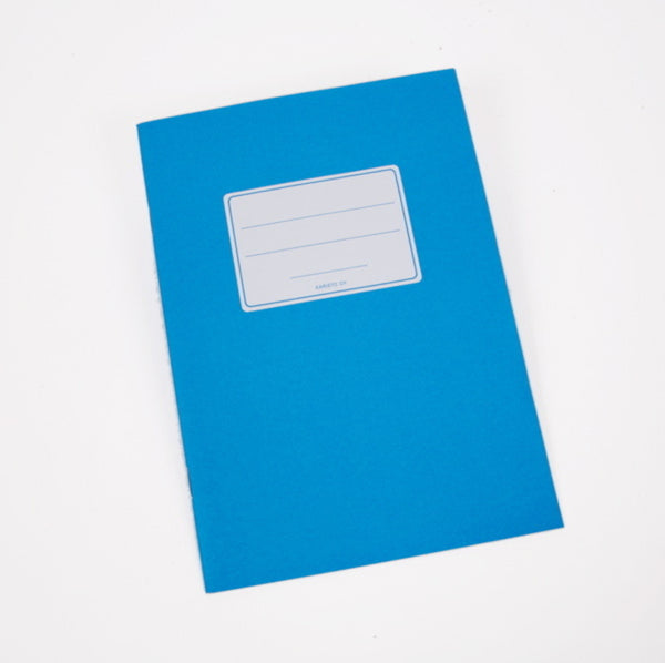 Blue Accounting Notebook