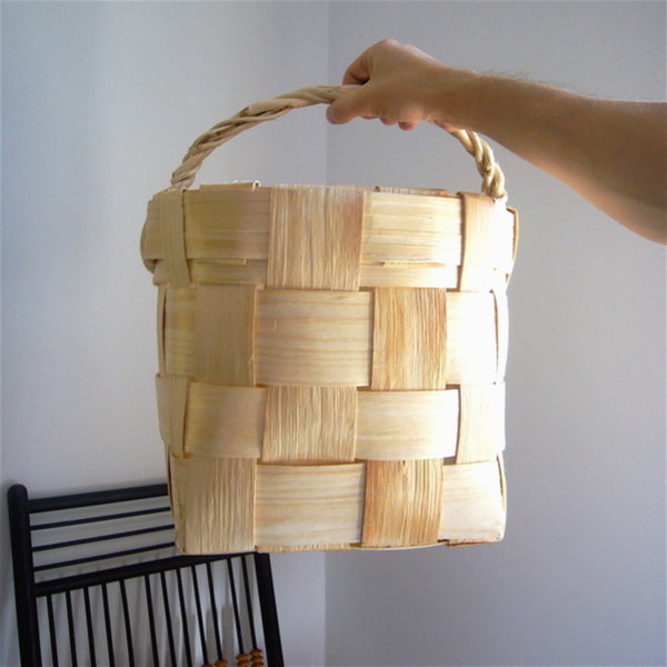 Birch and Pine Basket