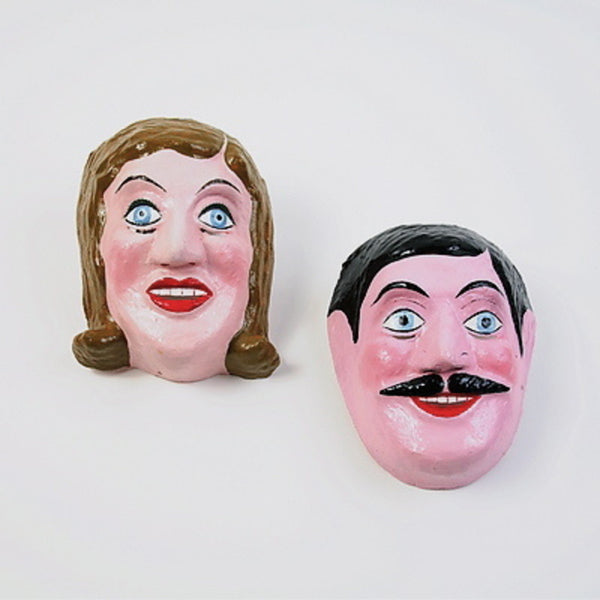Man and Woman Masks