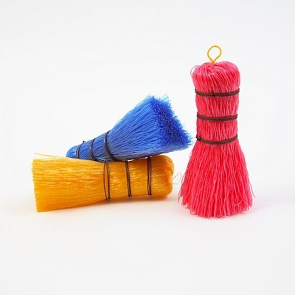 Set of 3 Plastic Household Brushes