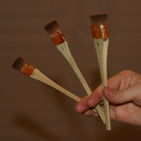 Set of 3 Paint Brushes