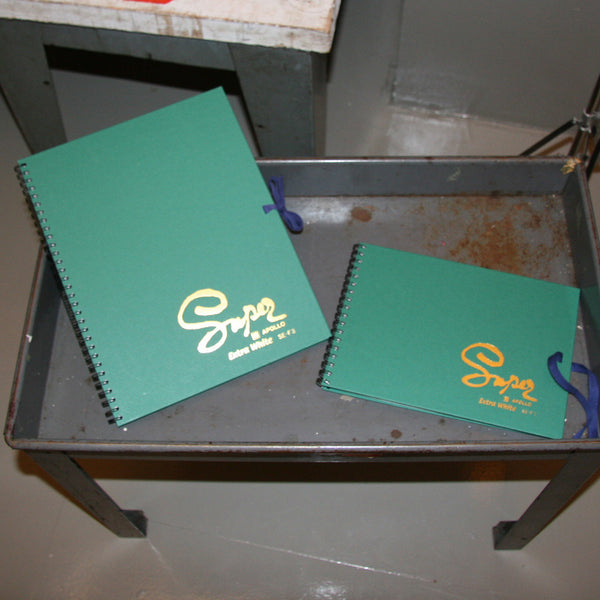 Two Super Sketch Drawing Books
