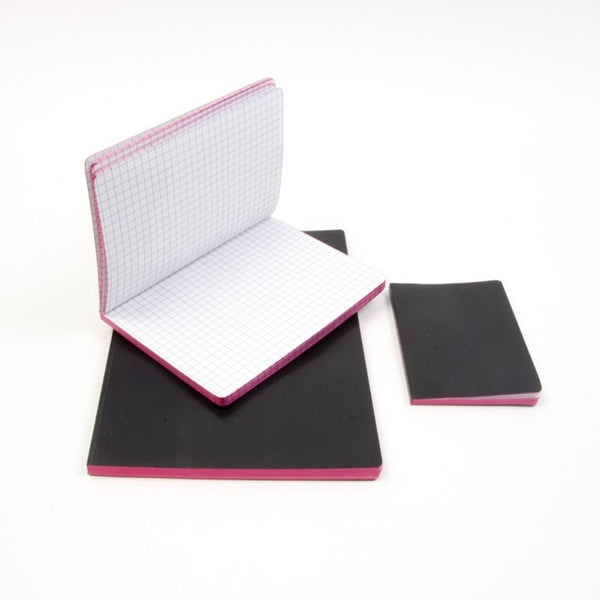 3 Piece Old Fashioned Black Notebook Set