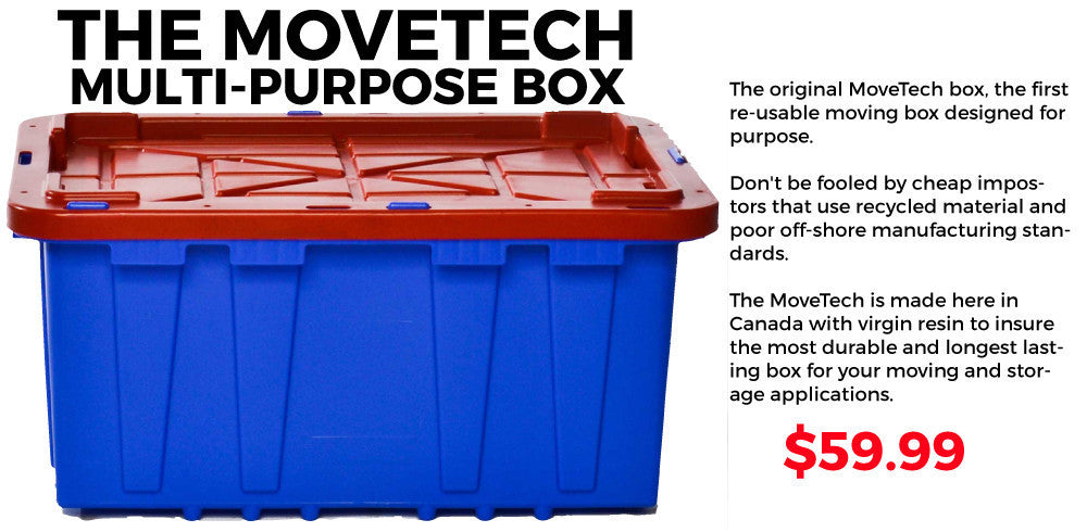 Movetech Plastic Moving Boxes