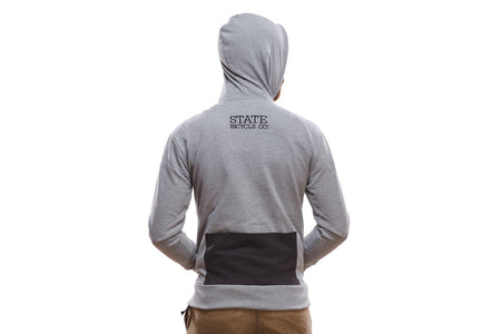 Riding Hoodie (Gray) (Ships via USA)