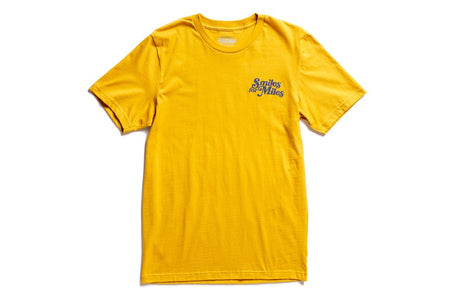 "State Bicycle Co. - ""Smiles for Miles"" - Premium T-Shirt (Mustard) (Ships via USA)"