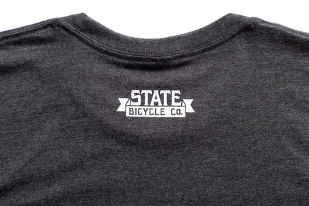 "State Bicycle Co. - ""Explore Your State"" - Premium T-Shirt (Gray) (Ships via USA)"