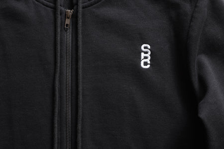 "State Bicycle Co. - ""Black Label"" - Zip-up Hoodie (Black) (Ships via USA)"