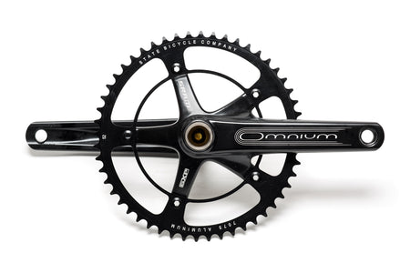Black Label Series: Chainring - 46t , 48t , 49t , 52t (Black) (Ships via USA)