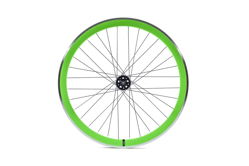 Neon Green Wheel Set